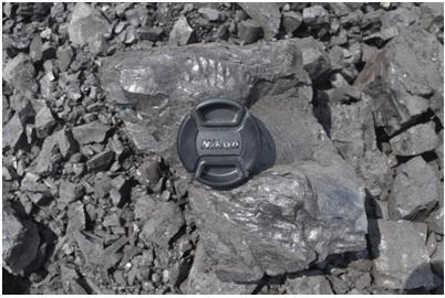 Gambar Batu Bara di Site Sambarata, PT. BerauCoal